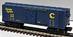 Lionel 6-7910 Chessie Single Door Boxcar
