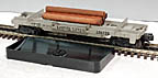 Lionel 3361 Operating Log Dump Car - Postwar