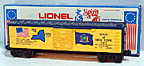 Lionel 6-7611 Spirit of 76 New York Boxcar