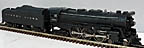 Lionel 2065 4-6-4 Hudson Steam Engine and 2046W Whistle Tender - Postwar
