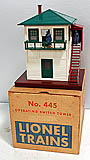 Lionel 445 Operating Switch Tower - Postwar