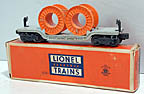 Lionel 6561 Cable Reel Car - Postwar