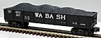 Lionel 6-9820 Wabash Gondola with Coal Load Std. O