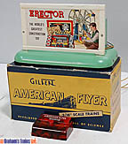 American Flyer 577 Whistling Billboard Lighted with Erector Sign