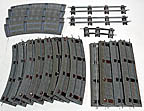 American Flyer S-Gauge Track Lot