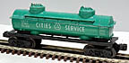 Lionel 6465-110 Cities Service 2-Dome Tank Car - Postwar