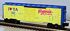 Lionel 6-19901 I Love Virginia Boxcar