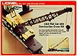 Lionel 6-9157 C&O Flat Car with Construction Crane Kit