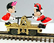 Lionel 6-18433 Mickey Mouse & Minnie Mouse Handcar