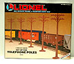 Lionel 6-2181 Set of Ten Telephone Poles