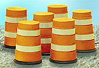 Lionel 6-32922 Construction Barrels (6)