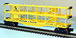 Lionel 6-9123 C&O Trailer Train 3-Level Auto Carrier
