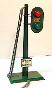 American Flyer Operating Block Signal, Std. Gauge - Prewar