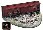Lionel 6-24149 Hobo Hotel with Flickering Fire