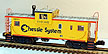 Lionel 6-17639 Chessie System Extended-Vision Caboose w/Smoke Std. O