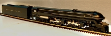 3rd Rail Sunset Models 6100 Pennsylvania S-1 6-4-4-6 Steam Locomotive, Brass