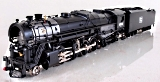 3rd Rail by Sunset Models 4015 Boston & Maine 2-8-4 T1a Berkshire Steam Engine and Tender with TMCC, Brass Construction