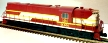 Atlas-O 20030009 ALCO Demonstrator RSD-7/15 Diesel Engine with TMCC