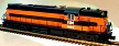Atlas-O 20030012 Bessemer & Lake Erie RSD-7/15 Diesel Engine with TMCC