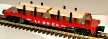 Lionel 6-19484 Flatcar with Lumber Load