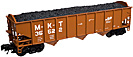 Atlas-O Trainman 2001802-1 MKT AAR 70 Ton 3-Bay Open Hopper #35522
