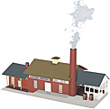 MTH 30-90184 Altoona Brewing Co. Brewery with Operating Smoke