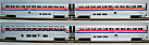 MTH Premier 20-6524 Amtrak 4-Car Superliner Passenger Set