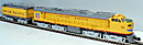 Lionel 6-18149 Union Pacific Veranda Turbine and Auxiliary Tender with TMCC and Odyssey