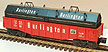 Lionel 6-16343 Burlington Gondola with Coil Covers