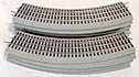 Lionel 6-12015 FasTrack O-36 Curve Track 9-Sections