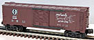 "K-Line K-64236 Santa Fe ""Texas Chief"" Map Boxcar"