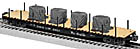 Lionel 6-82704 Rio Grande PS-4 Flatcar with Tarped Load