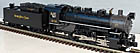 MTH Premier 20-3704-1 Nickel Plate Road 0-8-0 USRA Steam Engine with ProtoSound 3.0