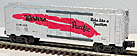 K-Line K-6481100 Western Pacific Red Feather Boxcar