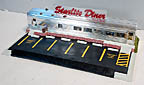 K-Line K-42404 Starlight Diner with Operating Smoke, Sound and Lights