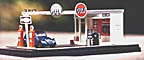 Twin Whistle Sign & Kit Co. O-Scale Deco Gulf Gas Station Kit