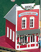 Piko 62200 Christmas Series Santa's Workshop G-Scale Building Kit