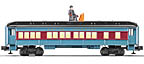 Lionel 6-35130 Polar Express Disappearing Hobo Passenger Add-On Car
