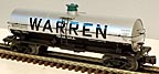 Atlas-O 8207-2 Warren Petroleum 11,000 Gal. Tank Car #2225