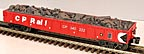 MTH 30-7009E CP Rail Gondola with Junk Load