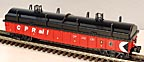 MTH 30-7240 CP Rail Gondola with Cover