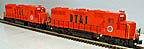 Weaver 7586 Detroit Toledo & Ironton DT&I GP38-2 Diesel Powered & Dummy Set with TMCC & RailSounds