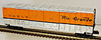 Lionel 6-27236 D&RGW Rio Grande Double Door Boxcar with Auto Frames Load Inside Std. O