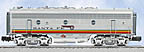 Lionel 6-24593 Santa Fe F-7 Diesel Engine Powered B-Unit with TMCC