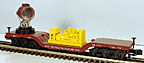 MTH 30-79412 Pennsylvania Die-cast Operating Searchlight Car