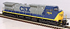 Atlas-O Trainman 20032004 CSX Dash 8-40CW Diesel Engine with TMCC