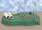 Lionel 6-14199 Playground Swings Animated Accessory