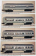 Lionel 6-16091 New York Central 4-Car Passenger Set