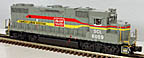 MTH Premier 20-20643-1 Seaboard Systems GP38-2 Diesel Engine with ProtoSound 3.0