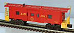 Lionel 6-16538 Louisville & Nashville Bay Window Caboose